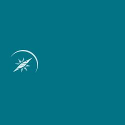 Blaues Dreieck